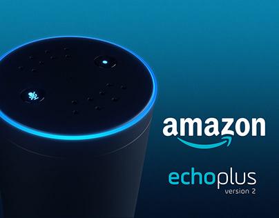 Amazon Echo Plus - CGI