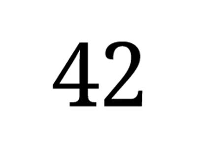 42 / La Vida, el universo y todo lo demás