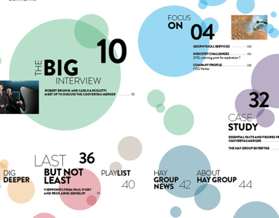 Magazine for Hay Group