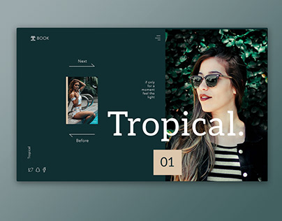 Tropical Feel Interface