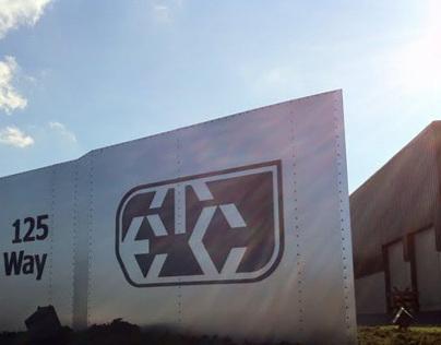 ETC Sign for Corporate Headquarters