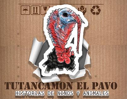 Tutancamon the turkey.....Children's book illustration