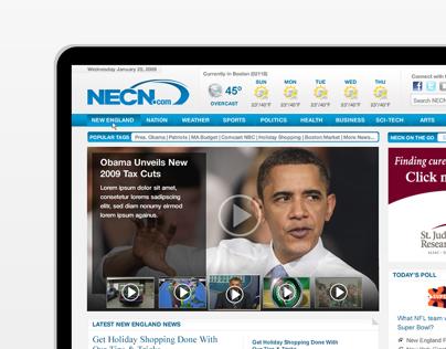 NECN.com Redesign