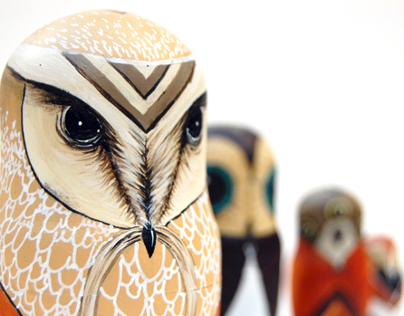 Russian Owls - Commissions - 2012