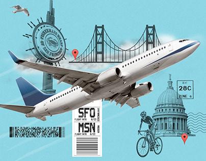 Power Trips - San Fran to Madison