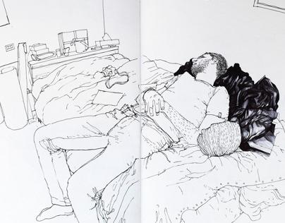 On the road Sketchbook PART 2