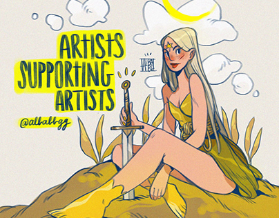 🍋🌿ARTISTS SUPPORTING ARTISTS QUARANTINE EDITION🌿🍋