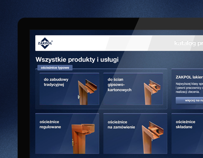Zakpol Interactive Product Catalog