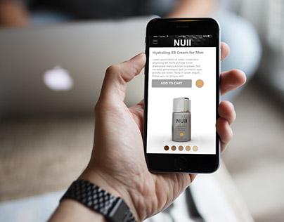 UX Challenge | NULL, Makeup for Men