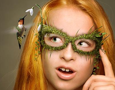 Strange glasses
