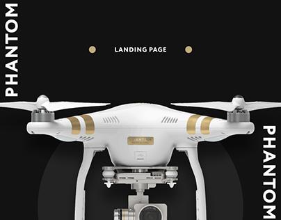 DGI Phantom Landing page