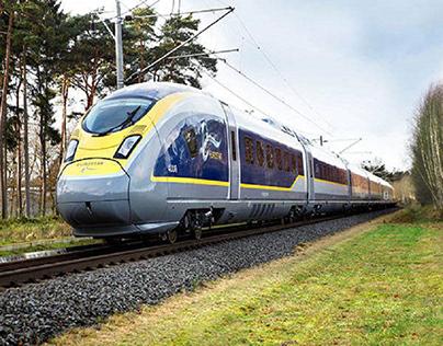 The high-speed Eurostar e320
