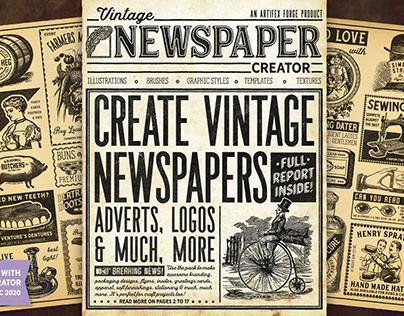Vintage Newspaper Creator