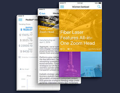 Connect News Aggregation App