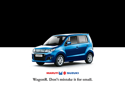 Maruti Suzuki WagonR-Long Copy print and Poster