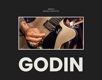 Godin Website / Redesign Concept 2021