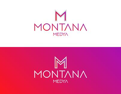 Montana Medya Logo Çalışması