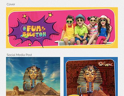 TOURISM, MUSEUM, RAJASTHAN, INDIA, FUN PARK, KIDS, LOGO