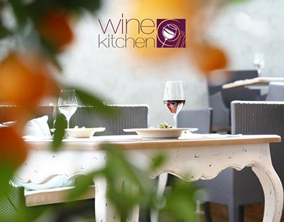 Design for Mediterranean Restaurant Wine Kitchen