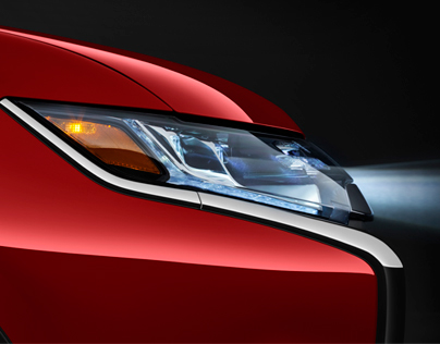 2016 Outlander GT Headlamp