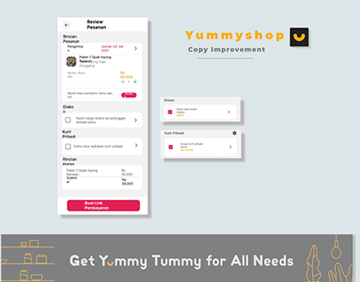 Yummyshop - Copy Improvement