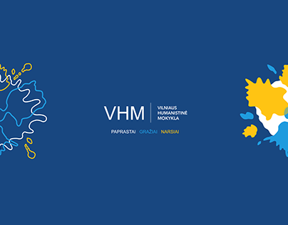 BAND IDENTITY CAMPAIGN For Vilnius Humanistic School