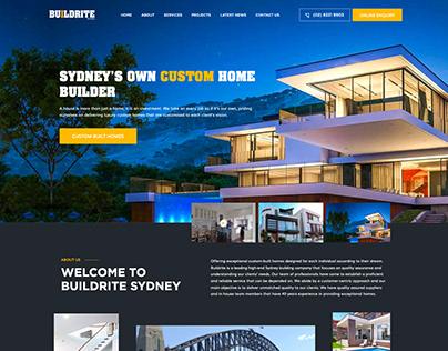 Buildrite Sydney Website