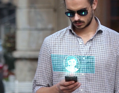 Texting and Hologram