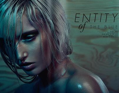 Entity of THE BLUE // SYN Magazine