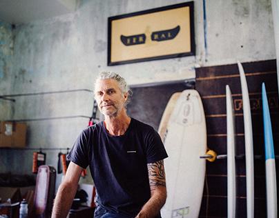 FERRAL Handshaped Surfboards - Anton Butler