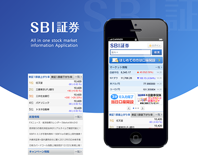 SBI Stock App