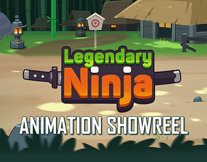 Legendary Ninja 2D Animation (2018 Project)