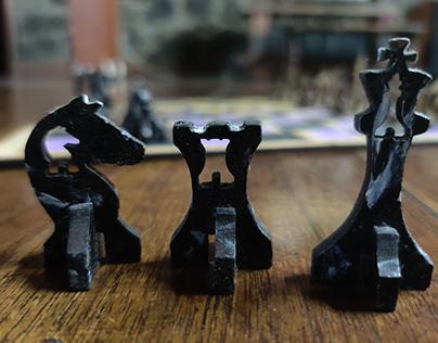Lasercut Chessboard