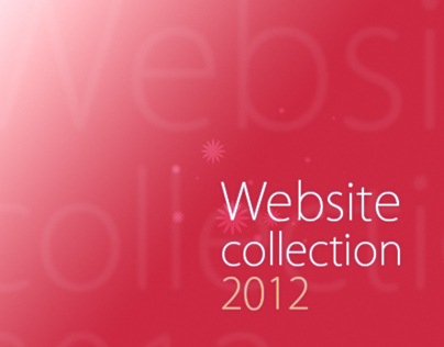 Website collection 2012