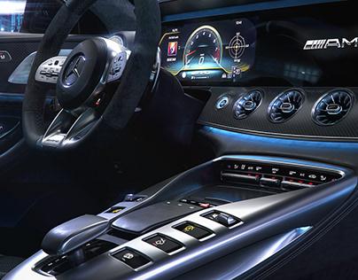 AMG GT 63S / CGI INTERIOR