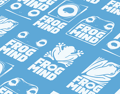 Frogmind Logo Designs (Personal Project)