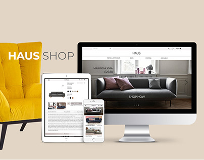 Haus online store, sofas and home furniture
