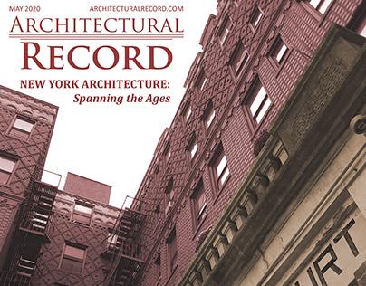 Architectural Record - Magazine Cover