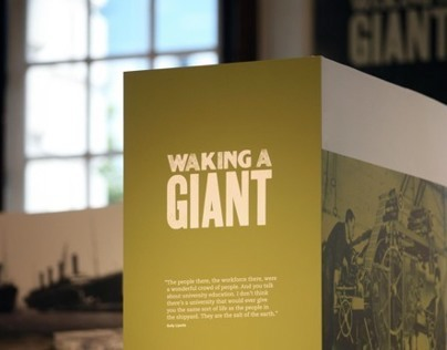 """""""Waking a Giant"""" Exhibition, Belfast City Hall"""