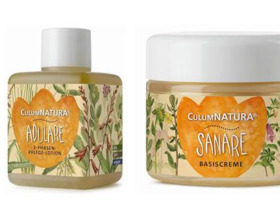 Illustrations of plants for CulumNatura