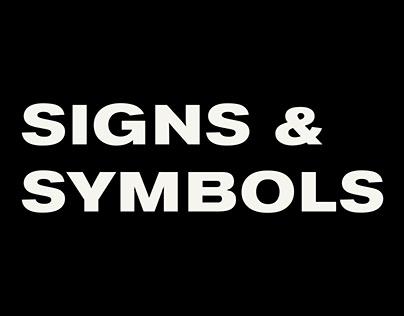 Signs & Symbols · ∞