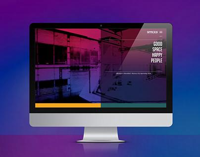 Webseite für spaces
