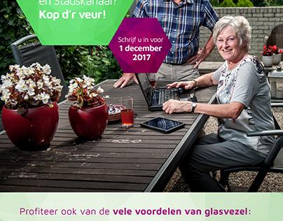 Campagne Mabin Glasvezel Groningen