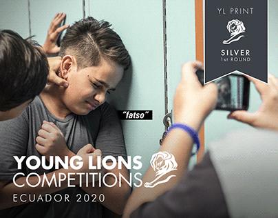 SILVER YOUNG LIONS 2020 ECUADOR - FIRST ROUND
