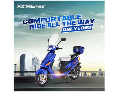 Social Media Advertising for Scooter Bike