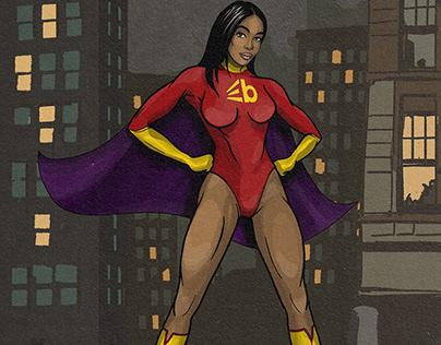 Comic Superhero Creation