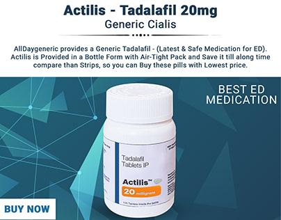 Introducing Actilis [Tadalafil 20mg] - Infographic
