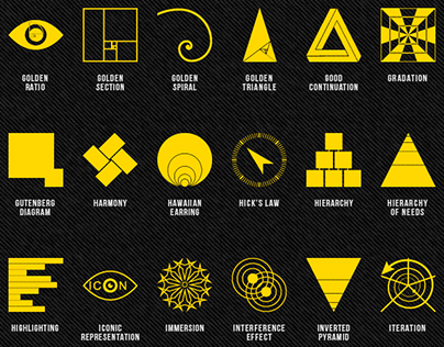Principles of Design Icons