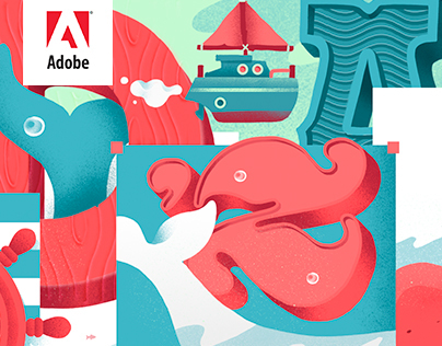 Adobe Cover Illustrations