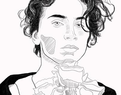 Timothée + Roses
